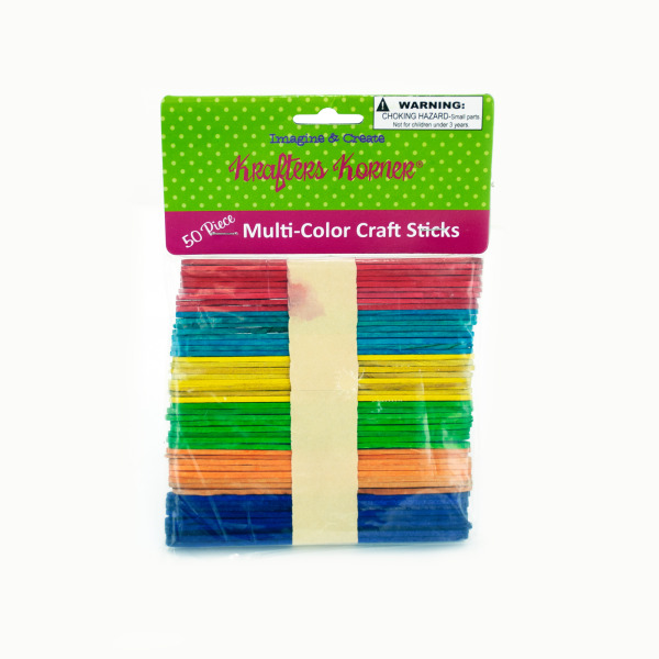Multi-Color Craft Sticks