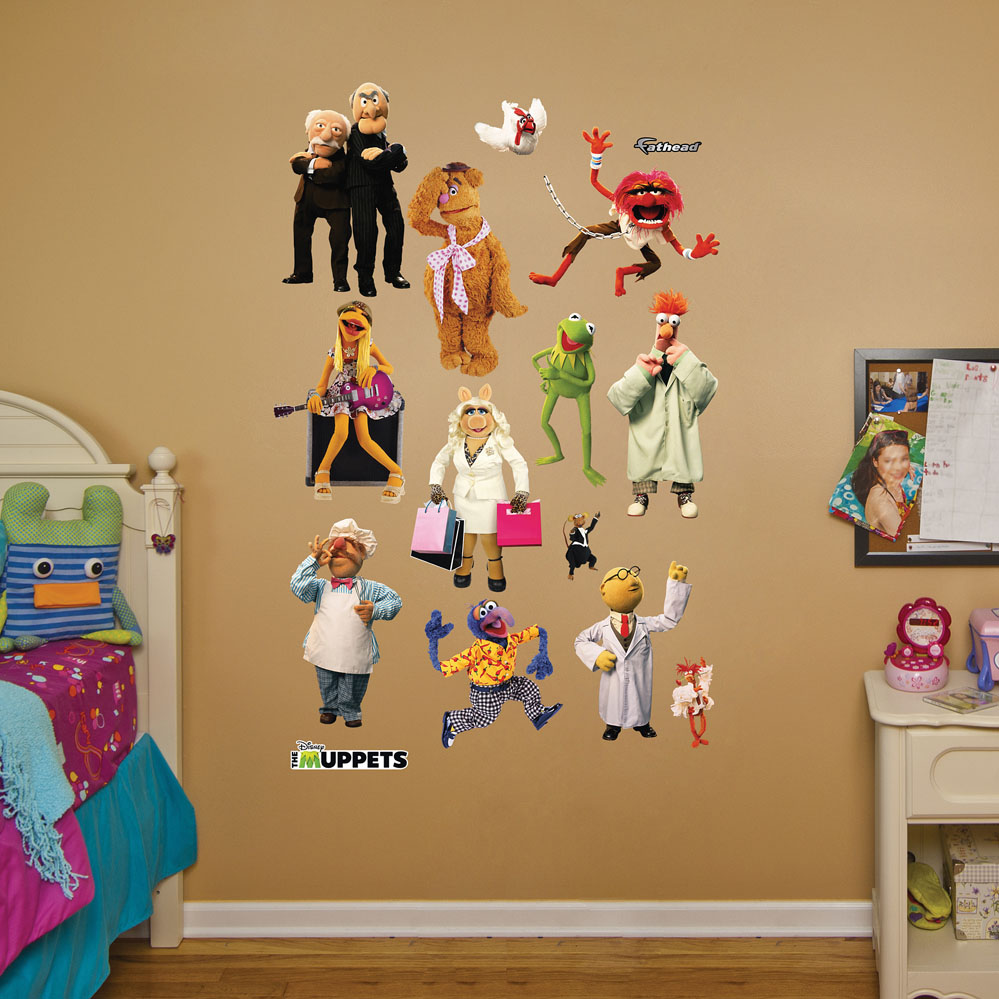 Muppets Collection REALBIG Wall Decal