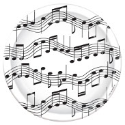 Music Decorations & Party Supplies