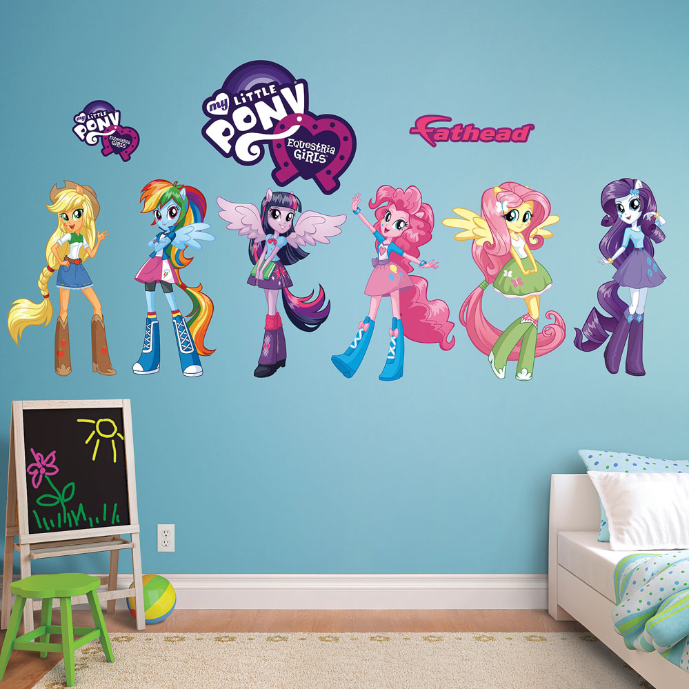 My Little Pony Equestria Girls Collection Decal