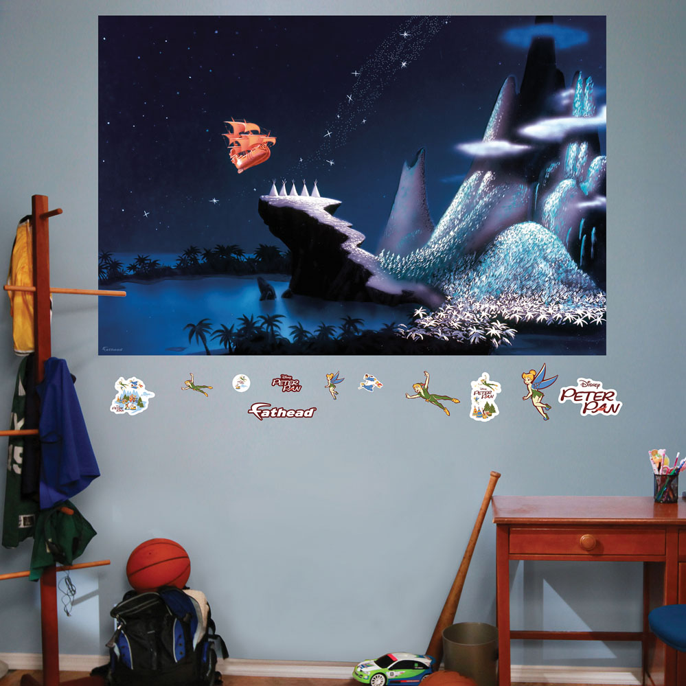 Neverland Mural REALBIG Wall Decal
