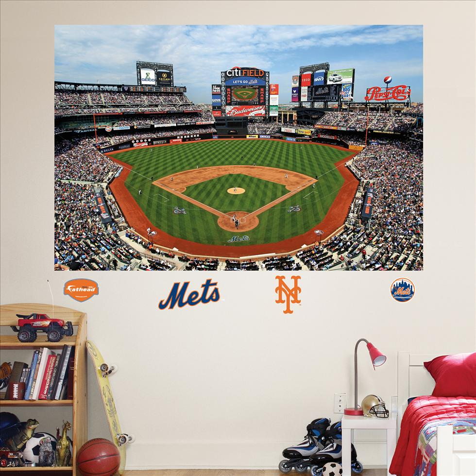 New York Mets Citi Field Stadium Mural-Fathead