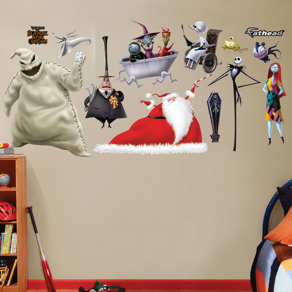 Nightmare Before Christmas Collection Wall Decal