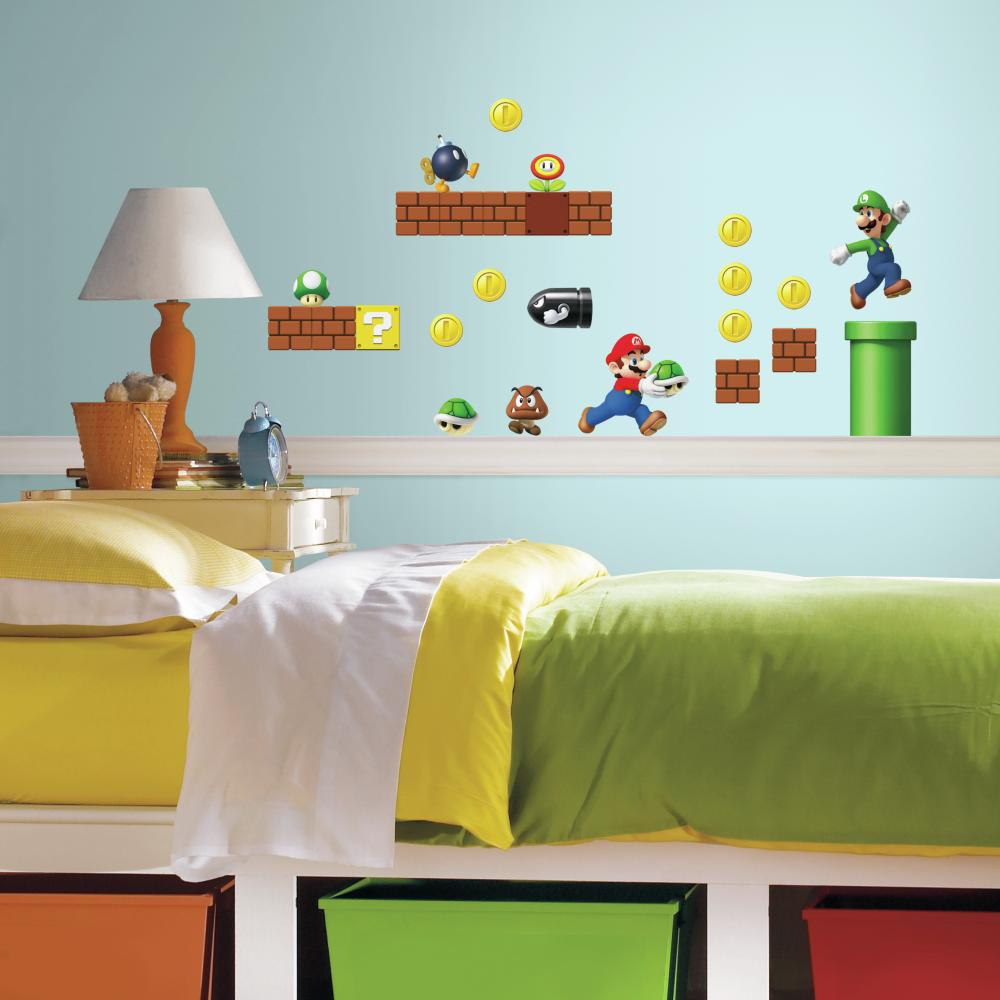 Nintendo-Super Mario Build a Scene Decal