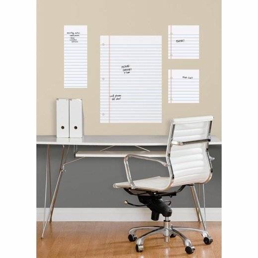 Notebook Paper Dry Erase Giant Decal