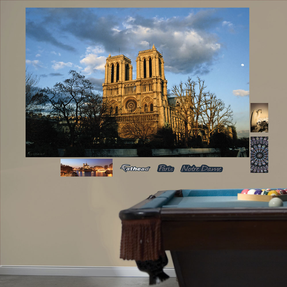 Notre Dame (Paris) Mural REALBIG Wall Decal