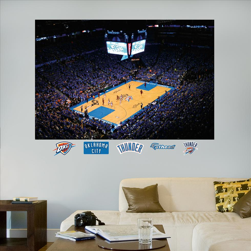 Oklahoma City Thunder '12 NBA Finals Mural-Fathead