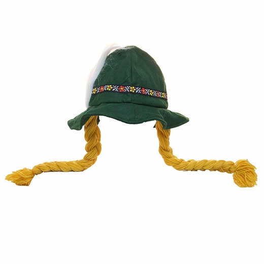 Oktoberfest Alpine Hat With Braids
