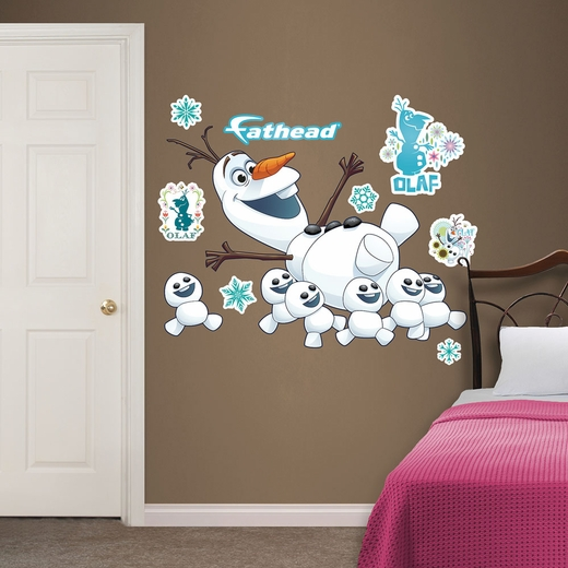 Olaf Collection Frozen Fever Fathead Wall Decals