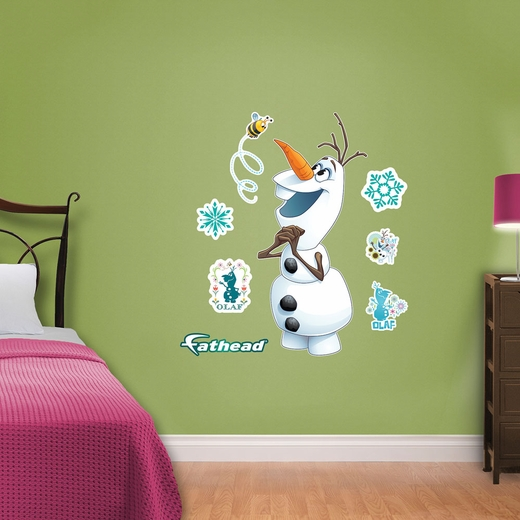 Olaf Frozen Fever Fathead Junior Wall Decals