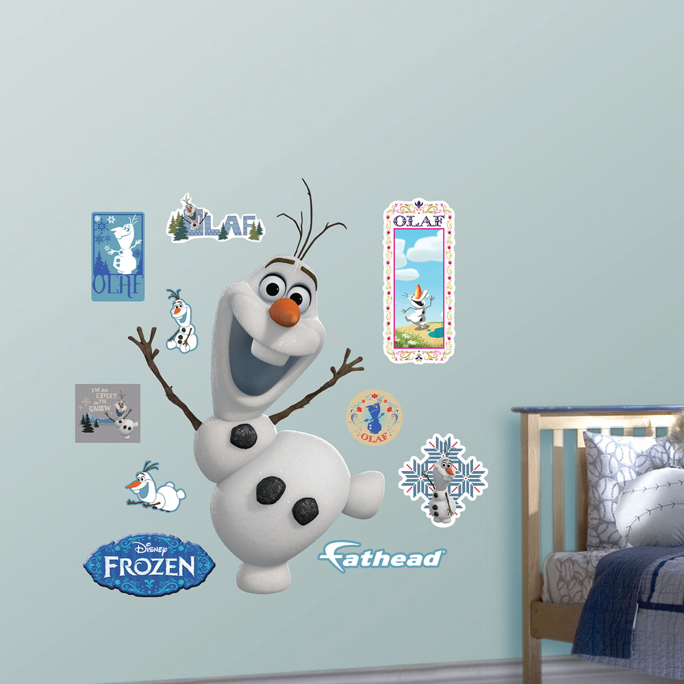 Olaf REALBIG Wall Decal