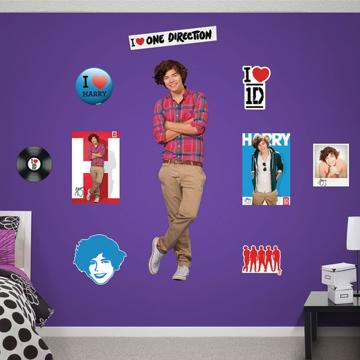 One Direction Harry Styles REALBIG Wall Decal