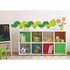OneDecor Book Worm Peel And Stick Decal