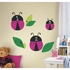 OneDecor Lady Bug Chalk Peel And Stick Decal