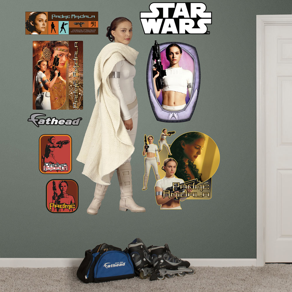 Padme Amidala REALBIG Wall Decal