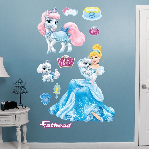 Palace Pets Cinderella Collection Wall Decal