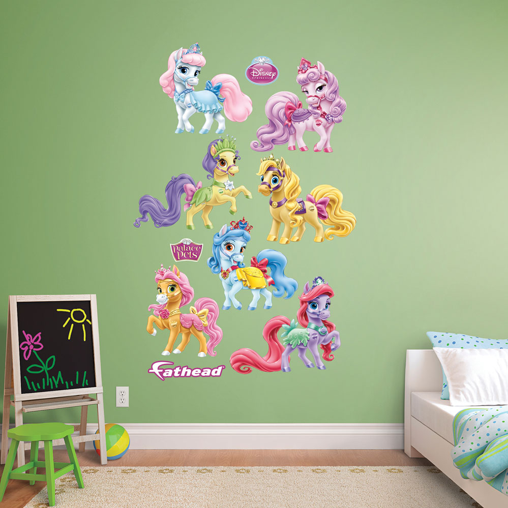 Palace Pets Ponies Collection REALBIG Wall Decal