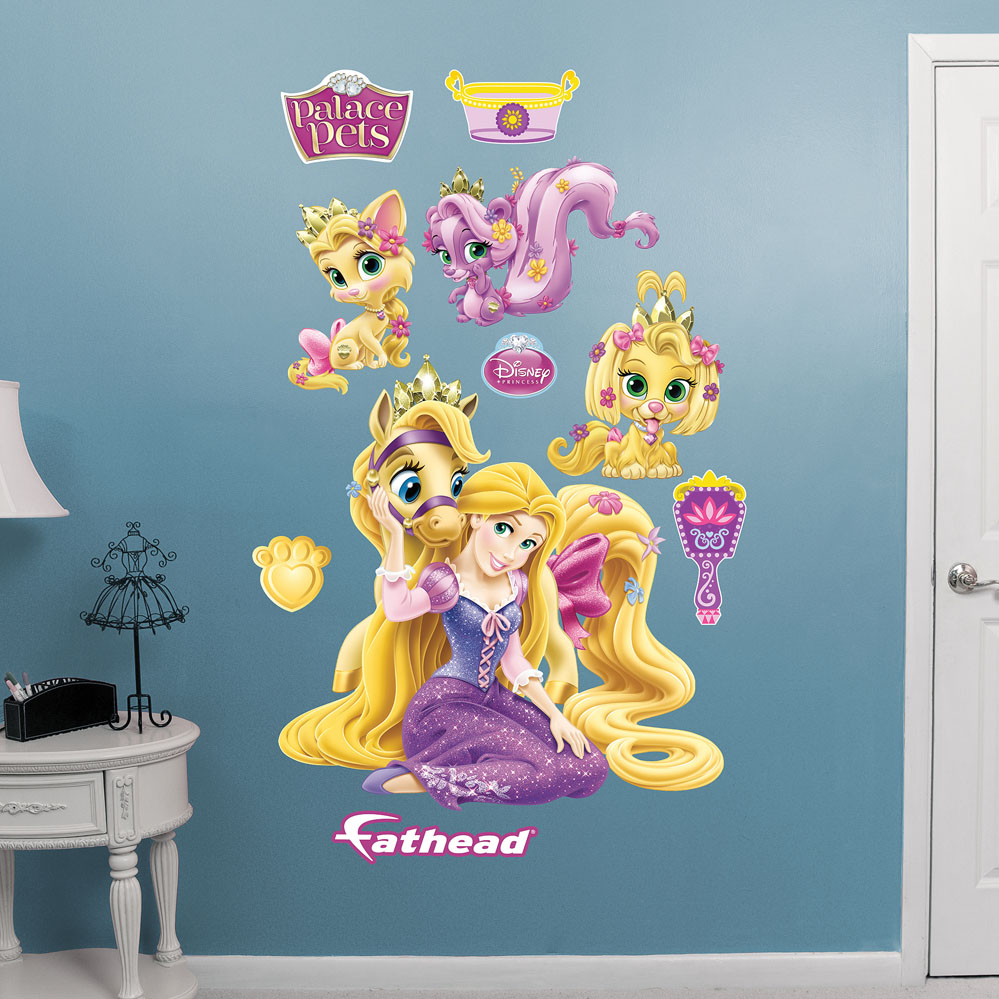 Palace Pets Rapunzel Collection Wall Decal