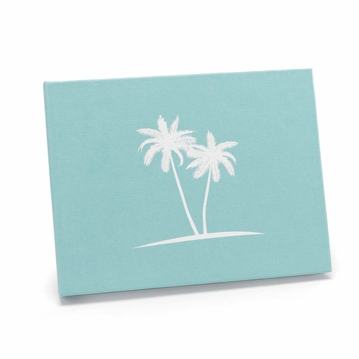 Palm Tree Guest Book