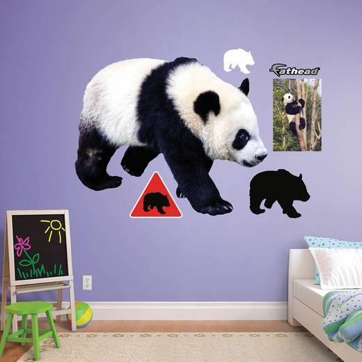Panda REALBIG Wall Decal