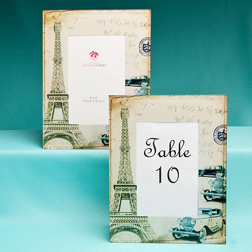 Paris Themed Frames