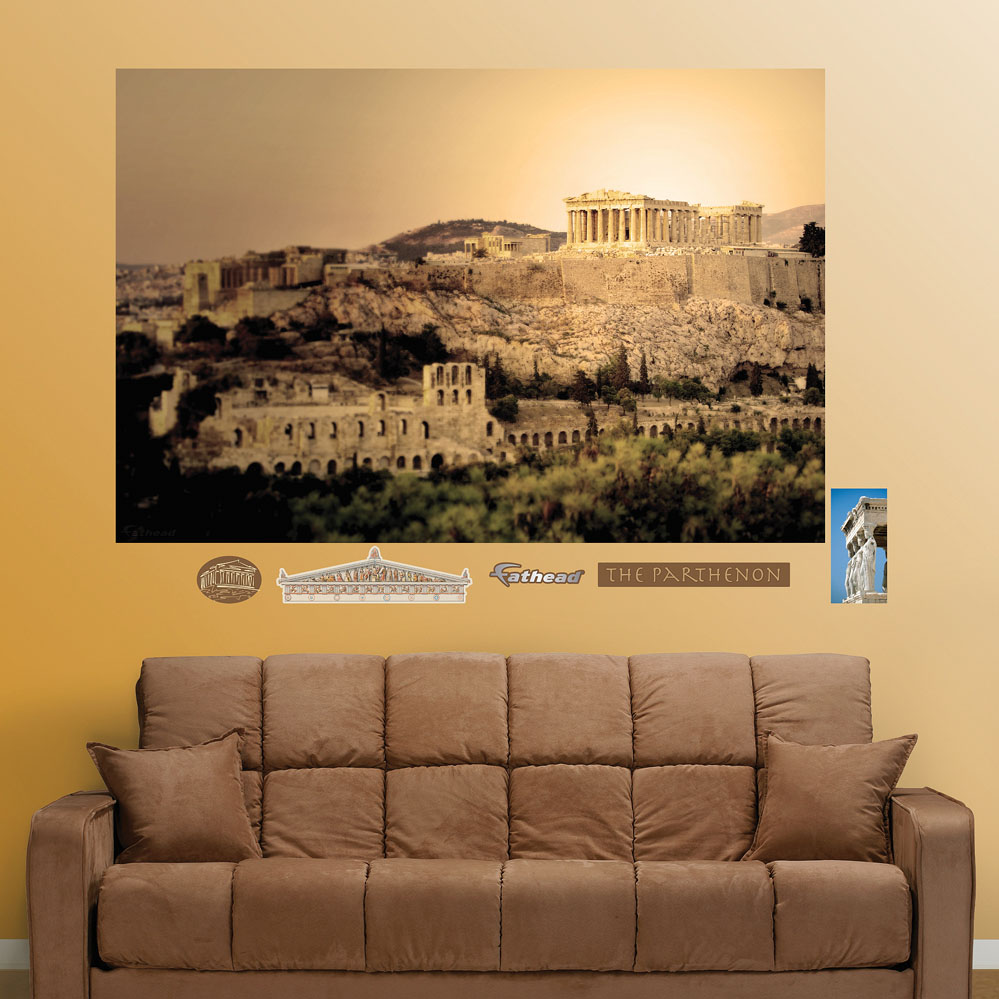 Parthenon Mural REALBIG Wall Decal