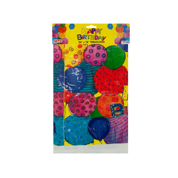 Party Balloon Table Cover