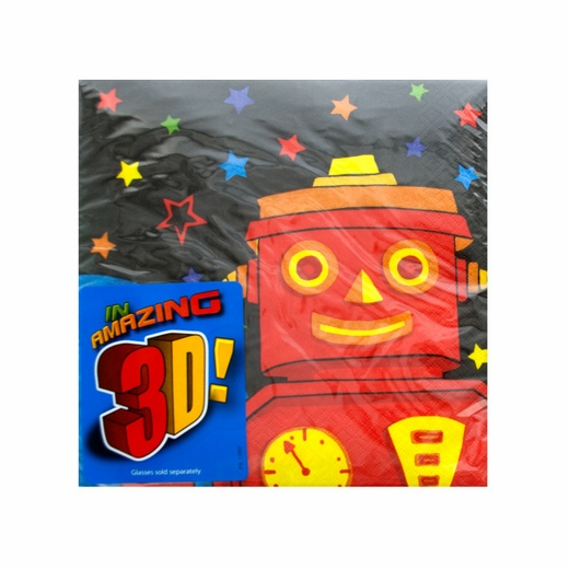 Party Bots Lunch Napkins