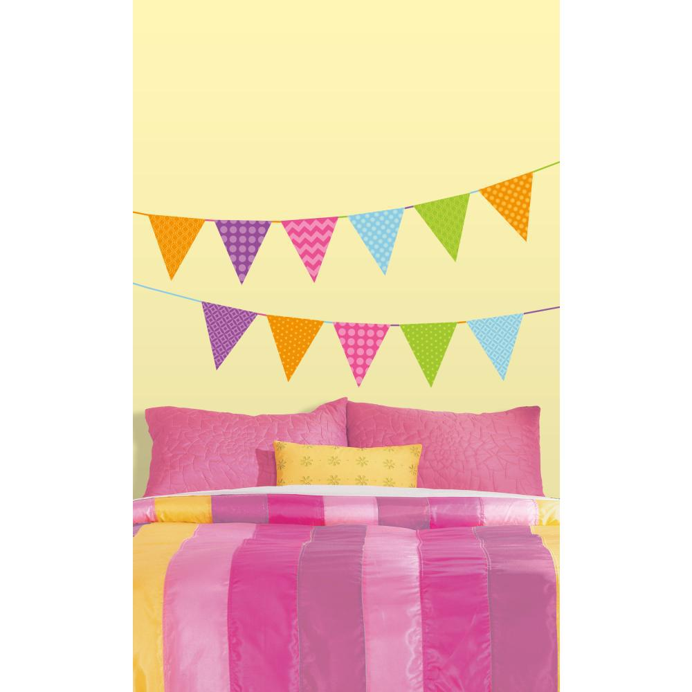 Patterned Pennants Decal