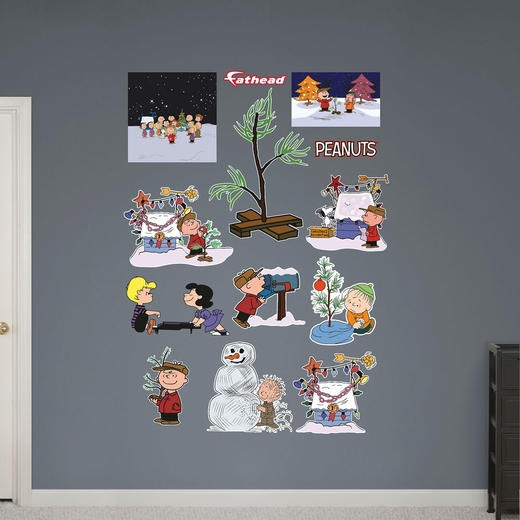 Peanuts Christmas Collection REALBIG Wall Decal