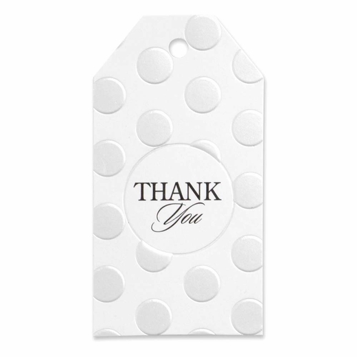 Pearl Dotted Favor Cards