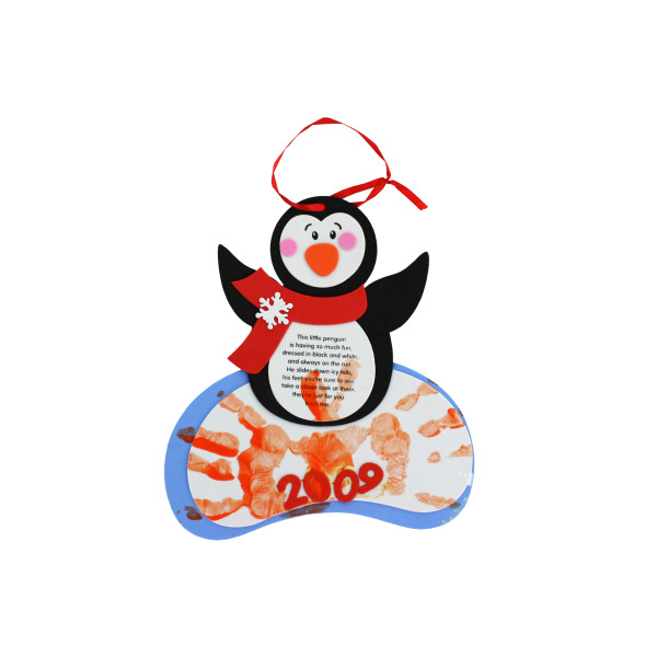 Penguin Handprint Keepsake Craft