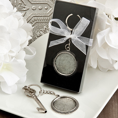 Perfectly Plain Collection Pewter Metal Key-Chains