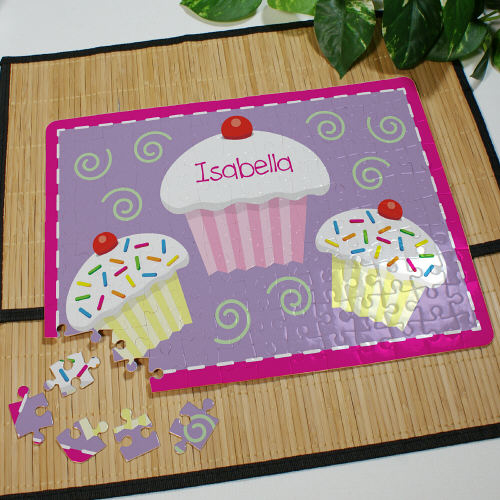 Personalized Cupcake Jigsaw Puzzle