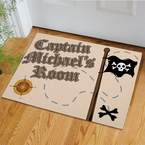Personalized Pirate Doormat