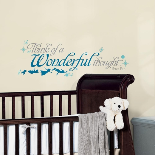 Peter Pan Wonderful Thought Decal