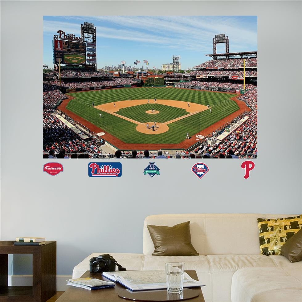 Phillies Citizens Bank Park Stadium Mural-Fathead