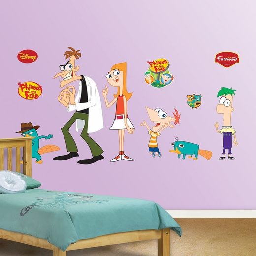 Phineas and Ferb Collection REALBIG Wall Decal