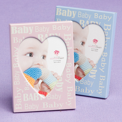 Pink And Blue Baby Frames