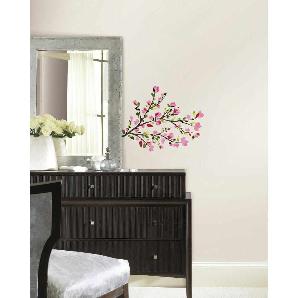 Pink Blossom Branches Decal