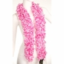 Faux Pink Featherless Boa (6', 185 grams)