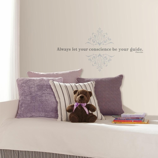 Pinocchio Let Your Conscience Be Your Guide Decal