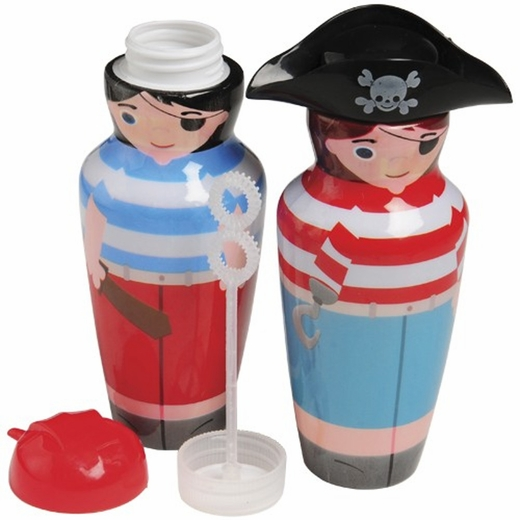 Pirate Character Bubble Bottle