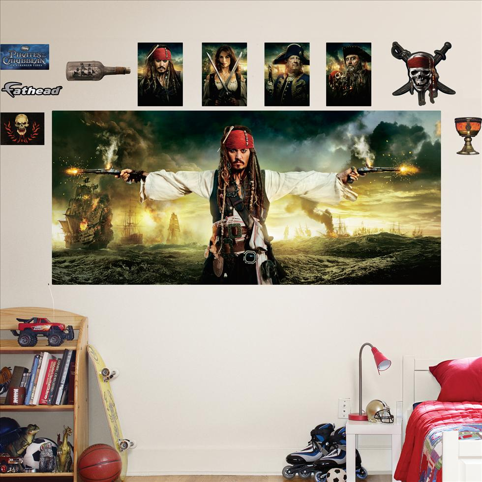 Pirates of the Caribbean Mural-Fathead