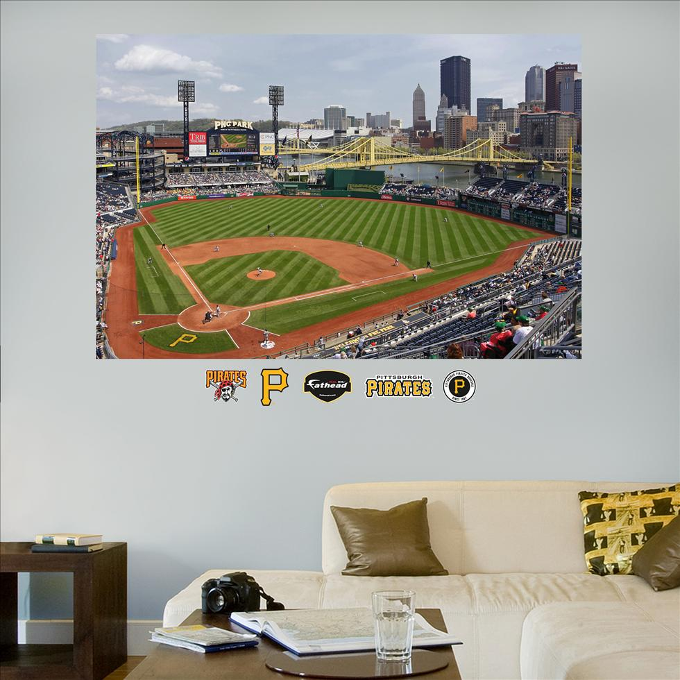 Pittsburgh Pirates PNC Park Stadium Mural-Fathead