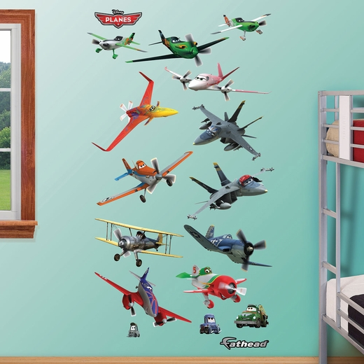 Planes Collection REALBIG Wall Decal