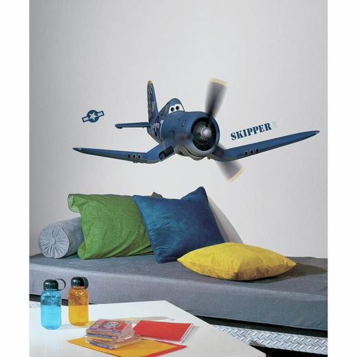 Planes-Skipper The Plane Giant Decal