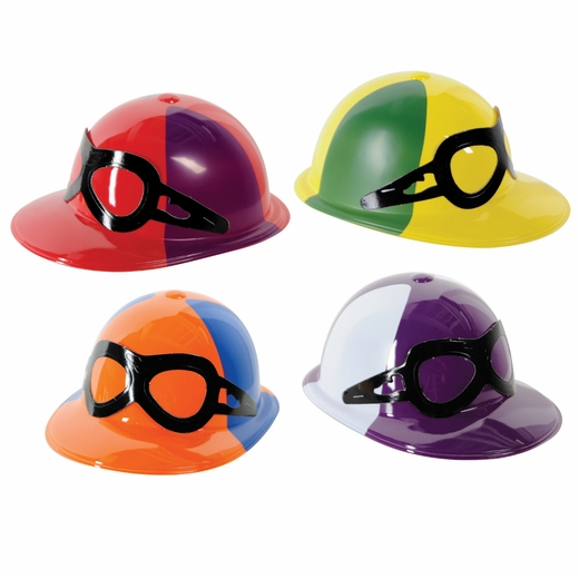 Plastic Jockey Helmet - Assorted Colors
