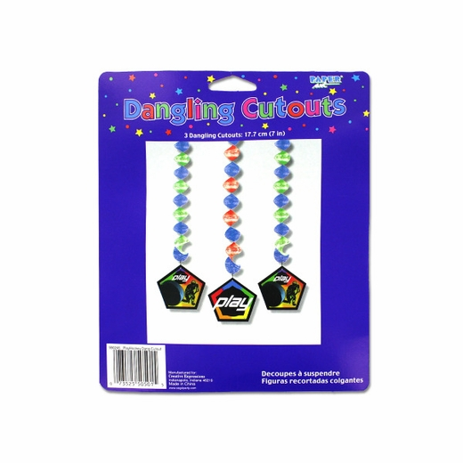 Play Hockey Dangling Cut-Outs