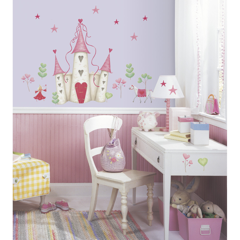 Princess Castle Peel And Stick Wall Decal